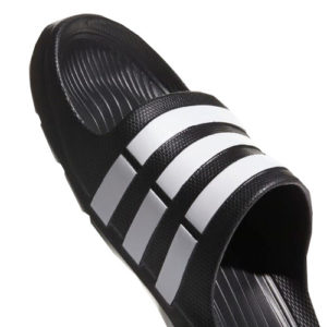 Adidas Duramo Slides - Black_White 3