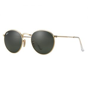 Ray-Ban Round Metal Gold