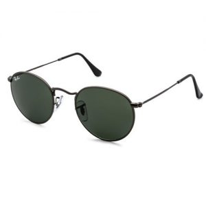 Ray-Ban Round Metal Black