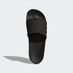Adidas Adilette Cloudfoam Black Plus Mono Slides