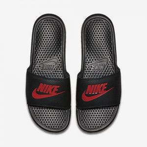 Nike Benassi JDI Original Slides - Black/Red