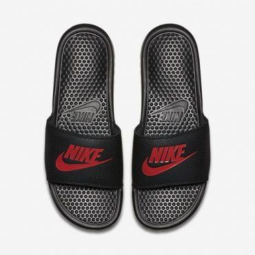 Nike Benassi JDI Original Slides - Black/Red