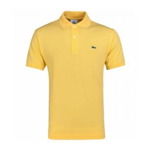 lacoste Piqué polo yellow