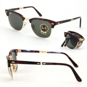Ray-Ban Clubmaster Folding Tortoise