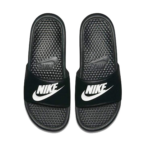 Nike Benassi JDI Slides - Black/White