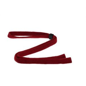 eyeglasses neck cord red