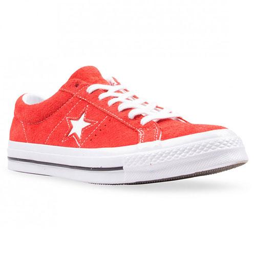 b38b1eeb6f5af3 Converse One Star Suede - Red
