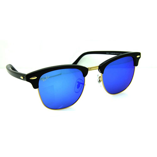 c785848ea5 Ray ban Clubmaster Classic RB3016- Blue Flash Lens - SuperBuy