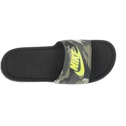 ed3642489b7c Nike Benassi JDI Print Slide – Camo Green