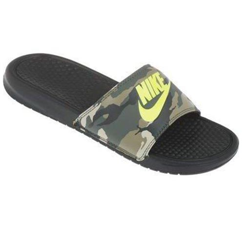 9fa37fc87ce5 Nike Benassi JDI Print Slide – Camo Green