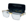 Chrome Hearts Unisex Optical Eyeglass in Transparent Frame