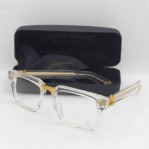 Chrome Hearts Transparent Frame