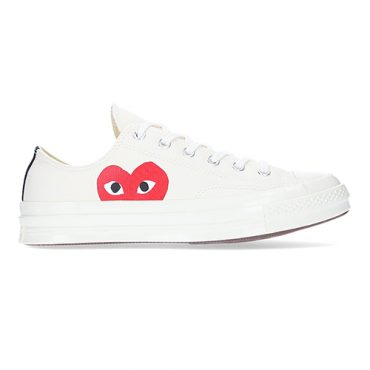 Comme des Garcons PLAY x Converse Chuck Taylor All Star 70s Low