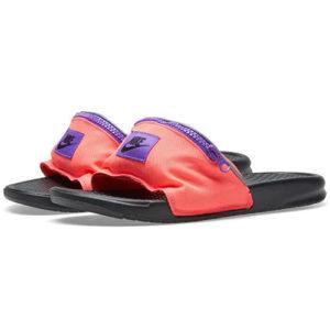 Nike Benassi JDI Fanny Pack - Punch Red/Black