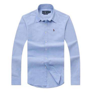 Ralph Lauren Oxford Long Sleeve Shirt - Light Blue