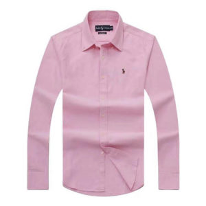 Ralph Lauren Pink Oxford Long Sleeve Shirt