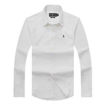 Ralph Lauren White Oxford Long Sleeve Shirt