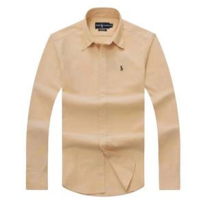 Ralph Lauren Yellow Oxford Long Sleeve Shirt
