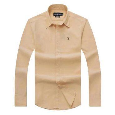 Ralph Lauren Yellow Oxford Long Sleeve Shirt