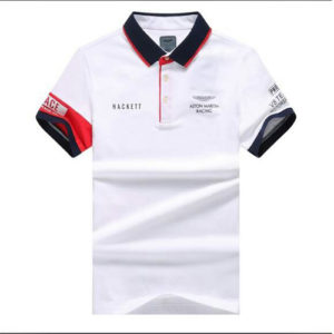 Aston Martin Racing Hackett Polo-White