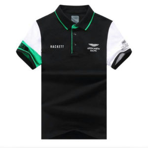 Aston Martin Racing Hackett Polo-White Black