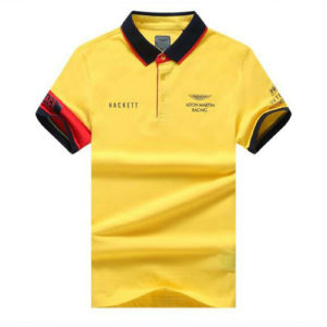 Aston Martin Racing Hackett Polo-Yellow