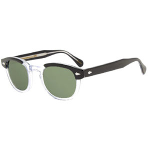 Moscot Lemtosh Black Crystal Sunglasses