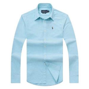 Ralph Lauren Oxford Long Sleeve Shirt - Blue