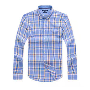 Tommy Hilfiger Blue Plaid