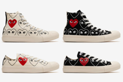 CDG Play X Converse Chuck 70 Debuts All-Over Print Logos