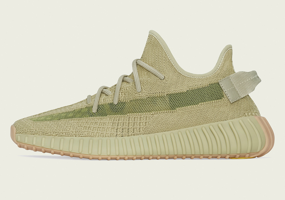 "Adidas Yeezy Boost 350 v2 ""Sulfur"" Detailed Images"