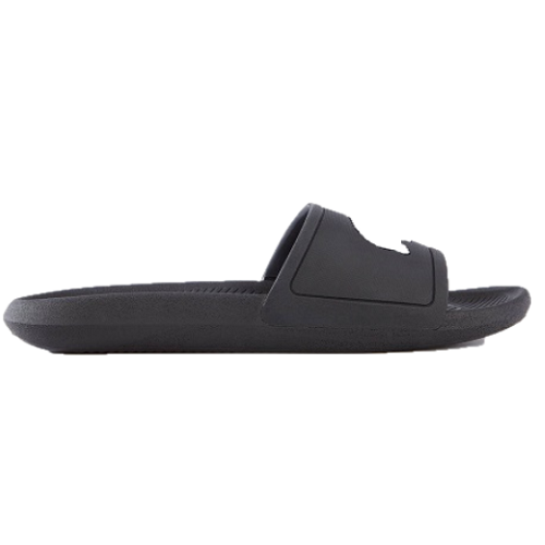 Lacoste Croco Slides 119 1 - Black/White