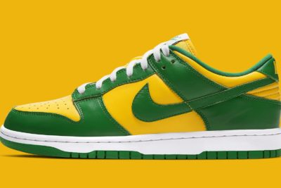 """Nike Dunk Low SP """"Brazil"""" Dropped This Week"""