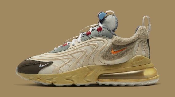 Travis Scott x Nike Air Max 270 React Has A Release Date