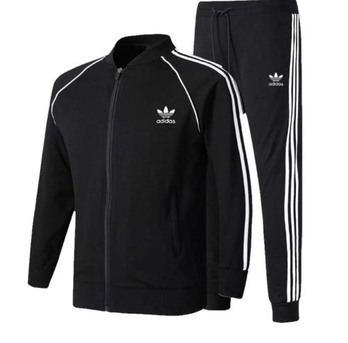 adidas tracksuit in Black
