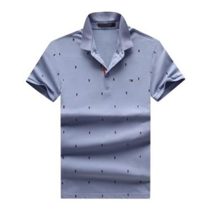Tommy Hilfiger Slim Fit Logo Embroidered Polo_Blue