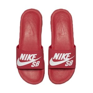 nike benassi sb red