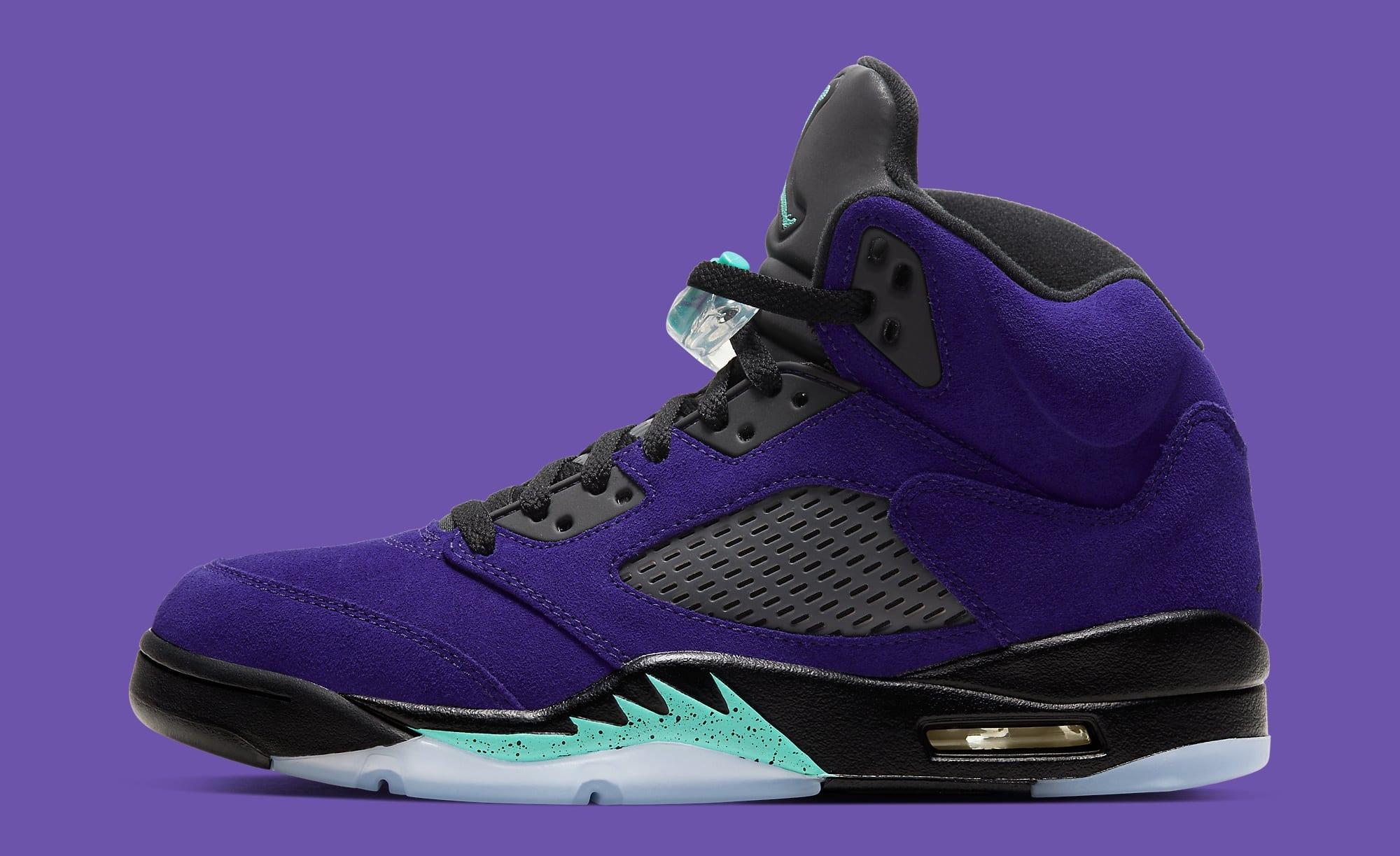 """Air Jordan 5 """"Alternate Grape"""" Released today"""
