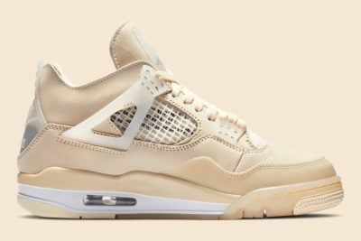 """The Off-White x Air Jordan 4 """"Sail"""" WNMS To Drop This Month"""