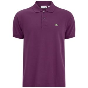 lacoste Piqué polo purple