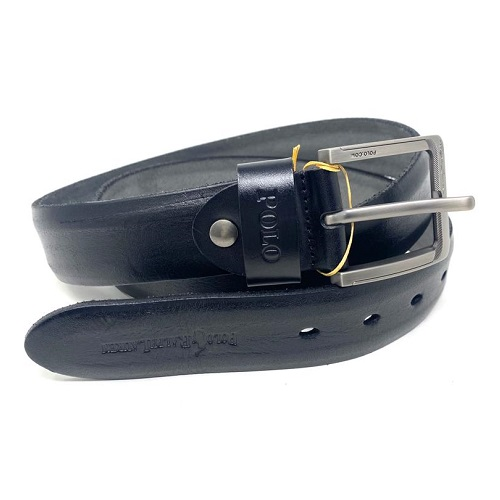 Ralph Black Leather Belt