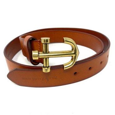 ralph lauren brown belt