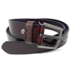 Ralph Brown Leather Belt