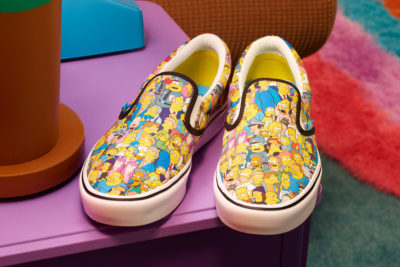 Vans Collab With The Simpsons For New Release