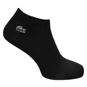 lacoste black ankle socks