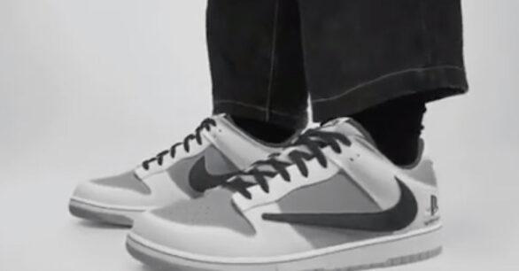 Travis Scott x Playstation x Nike Dunk Low Collab Revealed