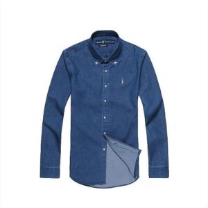 polo ralph denim shirt