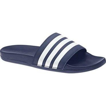 Adidas Adilette Cloudfoam Dark Blue/White