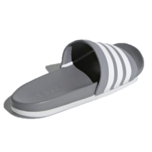 Adidas Adilette Cloudfoam Grey/White
