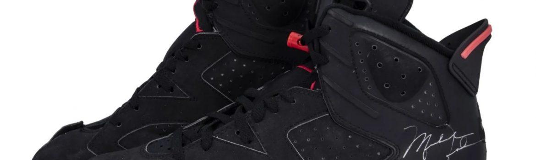 Michael Jordan sneaker auctioned